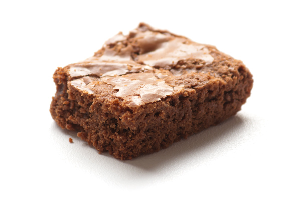 Food-Fotografie Brownie