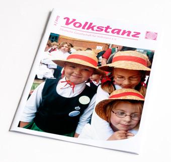Volkstanzzeitung Cover