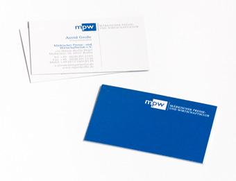 Visitenkarten MPW