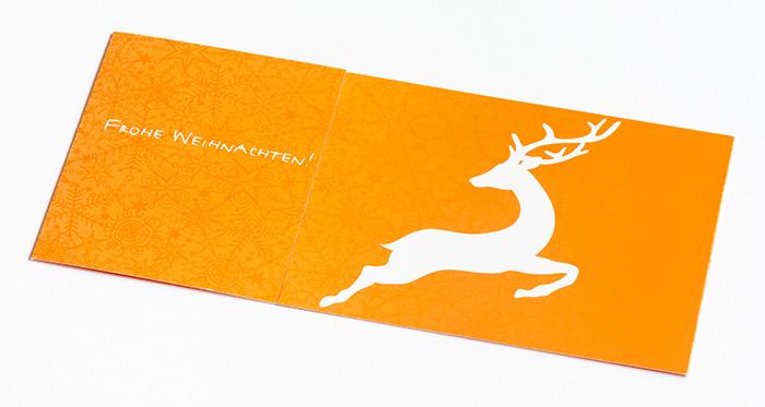 Weihnachtskarte Ossege
